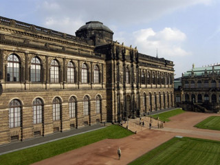 The Semper Wing of the Dresden Zwinger