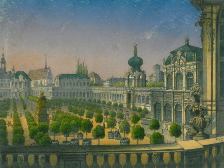 Geschichte Dresdner Zwinger
